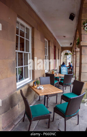 No. 6 The Square Tearooms, Buxton, Derbyshire - Stock Photo