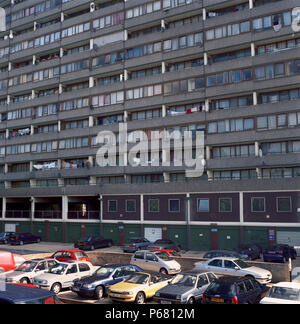 The Aylesbury Estate is a housing estate located in Walworth in south east London, United Kingdom. It is the largest council housing estate in Europe. - Stock Photo