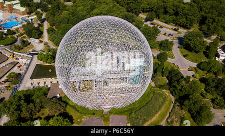 Biosphère de Montréal, Biosphere Environmental Museum, Montreal, Canada - Stock Photo