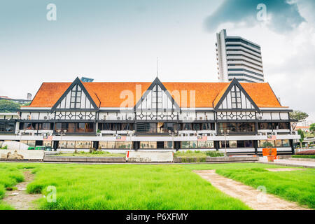 Royal Selangor Club at Merdeka Square in Kuala Lumpur, Malaysia - Stock Photo