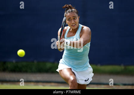 Eden Silva, professional tennis player from the United Kingdom. - Stock Photo