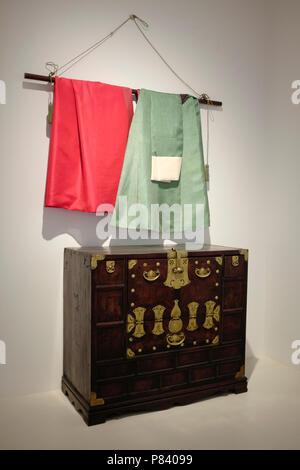National Folk Museum, Jongno-gu district, Seoul, South Korea. - Stock Photo