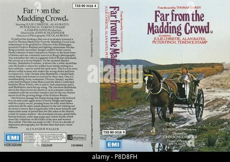 Far from the Madding Crowd (1968) Publicity information,     Date: 1968 - Stock Photo