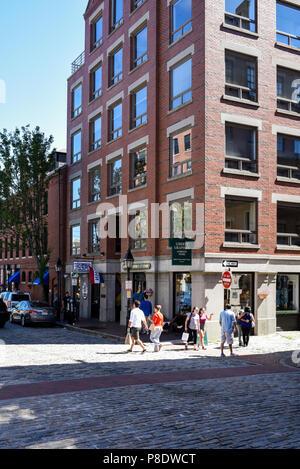 Downtown Portland Maine - Stock Photo
