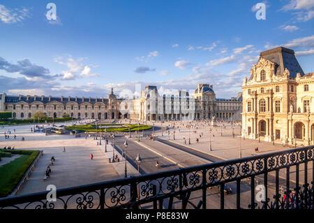 The Tuileries Garden in Paris, France. - Stock Photo