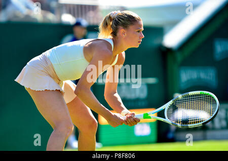 Camila Giorgi (ITA) playing in the first round of the Nature Valley International, Eastbourne, 25th June 2018 - Stock Photo