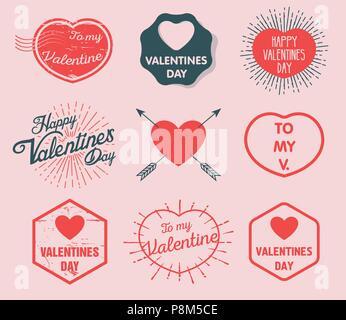 Do not disturb. Valentine's Day. Valentine. 14th of February. - Stock Photo