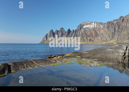 Senja island,Norway - Stock Photo