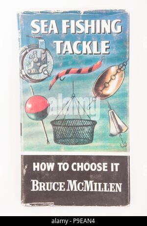 Sea Fishing Tackle How to Choose It Bruce McMIllen-How to Catch Them series. The How to Catch Them series of fishing books were published by Herbert J - Stock Photo
