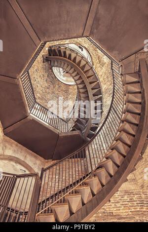 Lamberti Tower, Verona- Italy - Stock Photo