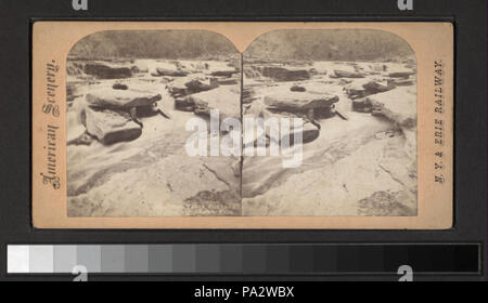 8 (... Rock Falls, Portage, above Lower Falls) (NYPL b11707987-G91F132 015F) - Stock Photo