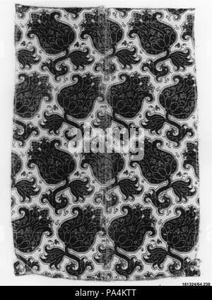 Piece. Culture: Italian. Dimensions: 29 1/2 × 19 3/4 in. (74.9 × 50.2 cm). Date: mid-17th century. Museum: Metropolitan Museum of Art, New York, USA. - Stock Photo