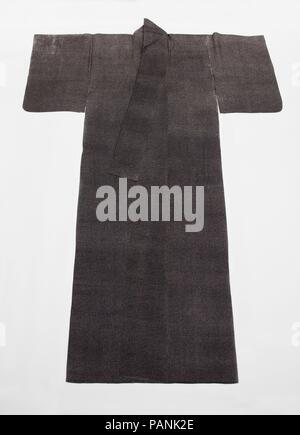 Kosode. Culture: Japan. Dimensions: 66 × 47 in. (167.6 × 119.4 cm). Date: 18th-19th century. Museum: Metropolitan Museum of Art, New York, USA. - Stock Photo