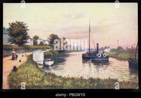 1626 The Crinan Canal Ardrishaig (NBY 442890) - Stock Photo