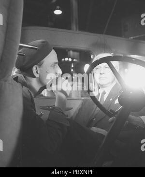 Ingmar Bergman. 1918-2007.  Swedish film director. Pictured here in July 1957 when directing his own film Wild Strawberries. The film had premiere 26 Dec 1957. - Stock Photo