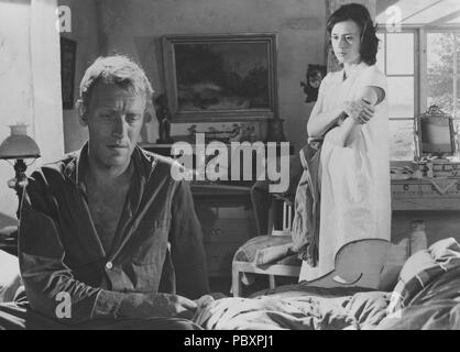 Through a Glass Darkly. Swedish film by Ingmar Bergman 1961 starring Harriet Andersson and Max von Sydow.  Ingmar Bergman. 1918-2007.  Swedish film director. - Stock Photo