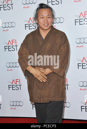 Kim Ki-Duk  the AFI 2nd Night at the Chinese Theatre in Los Angeles.Kim Ki-Duk 12 ------------- Red Carpet Event, Vertical, USA, Film Industry, Celebrities,  Photography, Bestof, Arts Culture and Entertainment, Topix Celebrities fashion /  Vertical, Best of, Event in Hollywood Life - California,  Red Carpet and backstage, USA, Film Industry, Celebrities,  movie celebrities, TV celebrities, Music celebrities, Photography, Bestof, Arts Culture and Entertainment,  Topix, Three Quarters, vertical, one person,, from the year , 2012, inquiry tsuni@Gamma-USA.com - Stock Photo