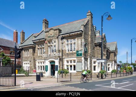 The Grey Horse Inn, Mill Lane, Whitburn, Tyne and Wear, England, United Kingdom - Stock Photo