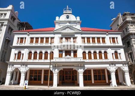 COLOMBO SRI LANKA - DEC 24, 2016: Whiteaways building on December 24, 2016. Colombo. Sri Lanka. - Stock Photo