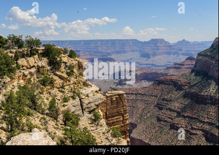 The Grand Canyon from Hopi Point - Stock Photo