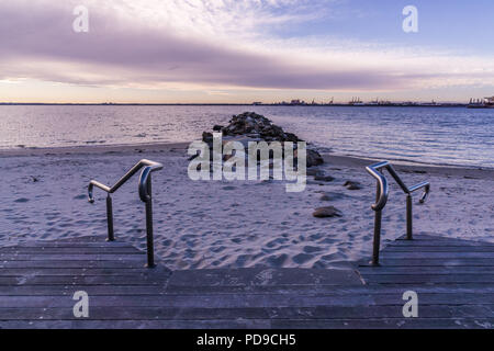 The beach at Kurnell, Sydney - Stock Photo