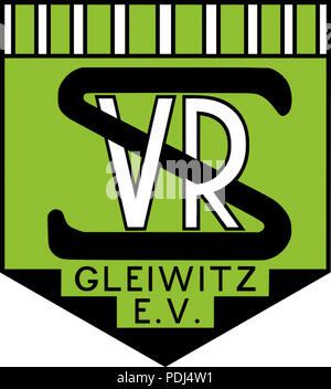 372 Vorwärts-Rasensport Gleiwitz- Altes Emblem - Stock Photo