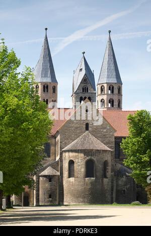 Ehem. Augustinerklosterkirche Unserer Lieben Frauen, Blick von Osten - Stock Photo