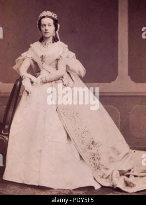 Archduchess Marie Henriette of Austria ,Queen of the Belgians. - Stock Photo