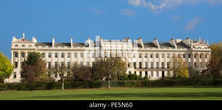 Cumberland Terrace designed by Sir John Nash1826 Regents Park London England - Stock Photo