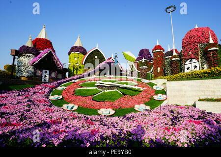 Flower Castle - Stock Photo