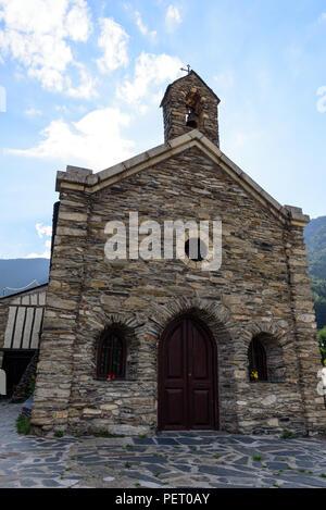 Coll de la Gallina, Sant Julia de Loria, Andorra - Stock Photo