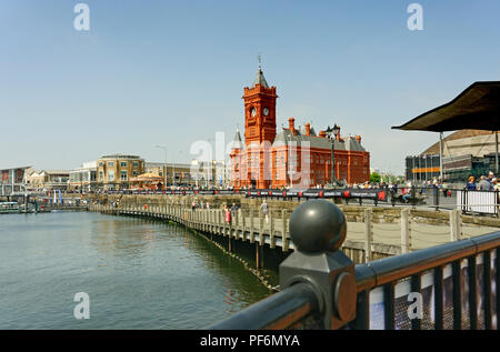 The Pierhead Building Cardiff Bay Wales UK - Stock Photo