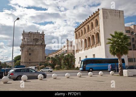 Street in Palermo, Sicily, Italy - Stock Photo