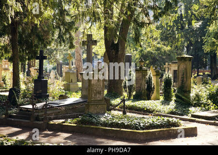 Old Cemestery, Bonn, North Rhine-Westphalia, Germany - Stock Photo