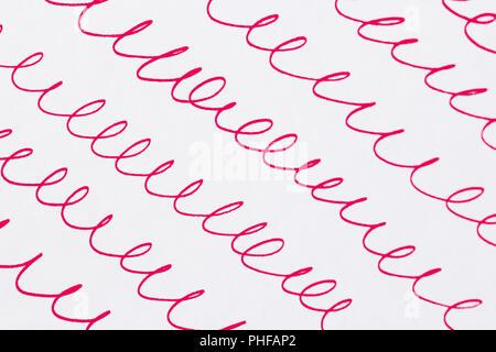 abstract wavy lines - Stock Photo