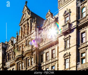 Building exterior of Jenners department store in Princes Street, Edinburgh, Scotland - Stock Photo