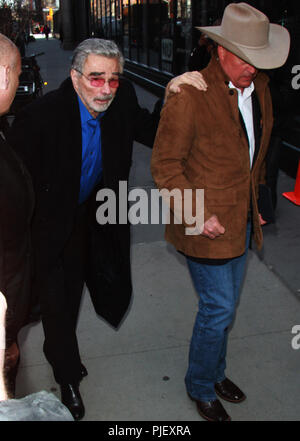 NEW YORK, NY March 15, 2018: Burt Reynolds at Build Series to talk about new movie Defining Moments in New York. March 15, 2018 Credit:RW/MediaPunch***FILE PHOTO*** Burt Reynolds Has Passed Away - Stock Photo