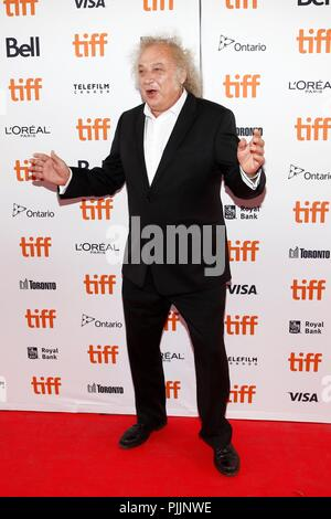 Toronto, Canada.  7th Sep, 2018. Zlatko Buric at arrivals for TEEN SPIRIT Premiere at Toronto International Film Festival 2018, Ryerson Theatre, Toronto, ON September 7, 2018. Credit: JA/Everett Collection/Alamy Live News - Stock Photo