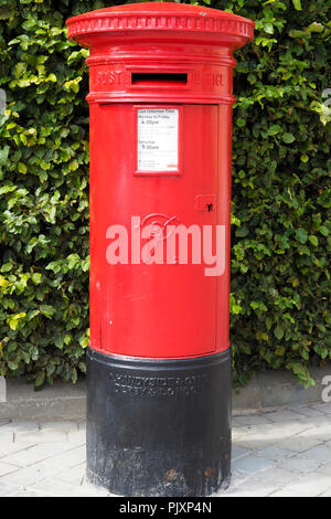 Victorian Post Box - Stock Photo
