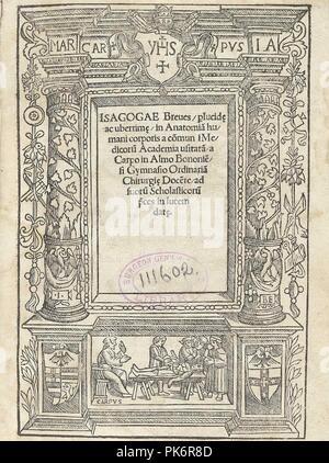 Berengario title. - Stock Photo