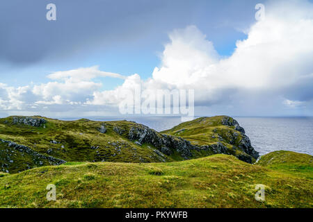 The amazing cliffs of Slieve League near Carrick Ireland. - Stock Photo