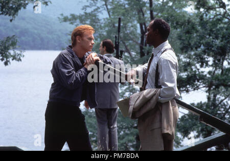 Film Still from 'Kiss of Death' David Caruso, Samuel L. Jackson © 1995 20th Century Fox Photo Credit: James Bridges  File Reference # 31043269THA  For Editorial Use Only - All Rights Reserved - Stock Photo