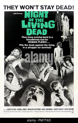 'Night of the Living Dead' 1968 Poster   File Reference # 31386_570THA - Stock Photo