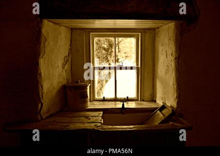 Croft window - Stock Photo