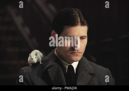 Crispin Glover as 'Willard' with 'Socrates' the rat in New Line Cinema's horror film, Willard. 2003 - Stock Photo