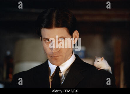 Crispin Glover as 'Willard' with his friend 'Socrates' the rat in New Line Cinema's horror film, Willard. 2003 - Stock Photo