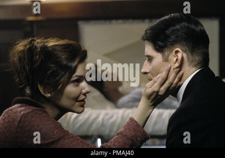 (left to right)  Laura Harring 'Cathryn', comforts Crispin Glover (Willard) in New Line Cinema's horror film, Willard. 2003 - Stock Photo