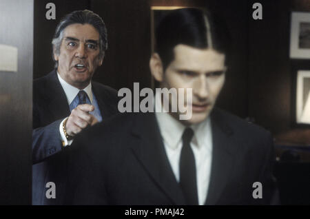 (left to right)  R. Lee Ermey 'Mr. Martin' and Crispin Glover 'Willard' in New Line Cinema's horror film, Willard. 2003 - Stock Photo