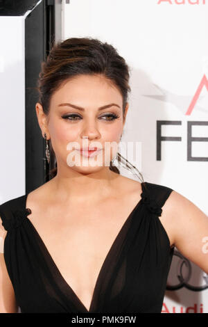 Mila Kunis at the AFI Fest 2010 Premiere of 'Black Swan'. Arrivals held at Grauman's Chinese Theatre in Hollywood, CA, November 11, 2010. Photo by Joseph Martinez / PictureLux File Reference # 30689_060PLX   For Editorial Use Only -  All Rights Reserved - Stock Photo