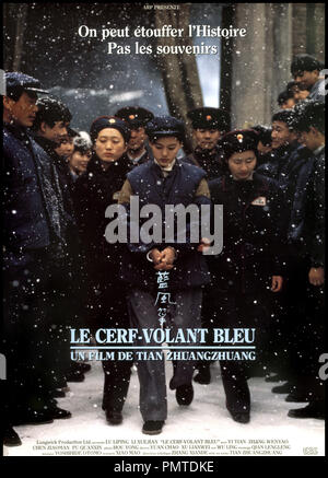 Prod DB © Longwick / DR LE CERF-VOLANT BLEU (LAN FENG ZHENG / THE BLUE KITE) de Tian Zhuangzhuang 1993 CHI / HK affiche - Stock Photo